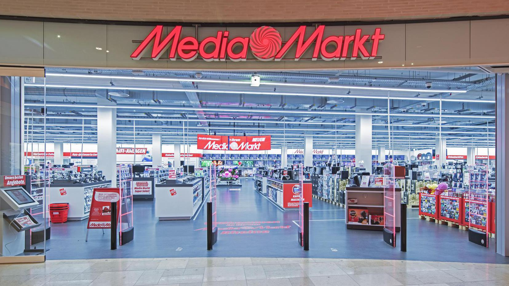 Mediamarkt emsgalerie rheine for Piscinas media markt